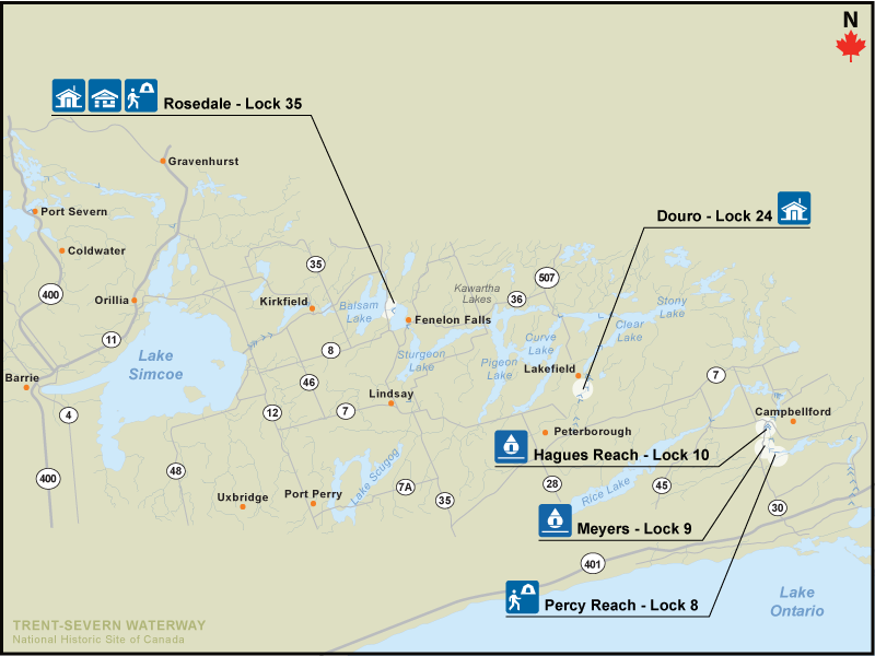 Find a site trent severn waterway national historic site location map gumiabroncs Images